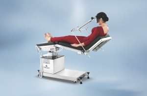 Neurosurgical procedure in sitting position, using 'M' type face Head Rest